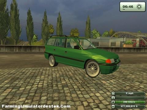 Opel Astra Caravan2