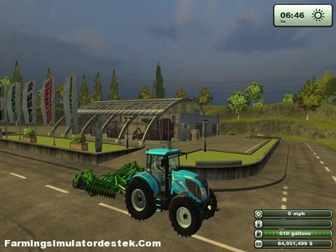 landinitraktör
