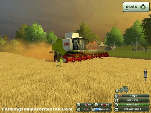 Photo of Claas Lexion 750 UW Biçer Döver
