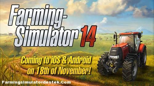 Farming Simulator 2014 Geliyor!