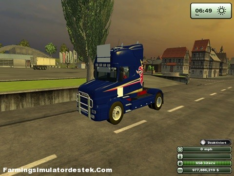 Photo of Scania T164