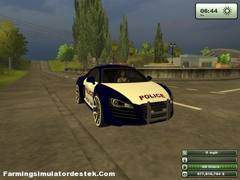 Photo of Audi R8 Polis Aracı