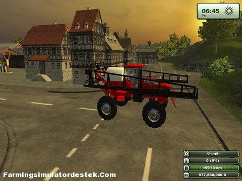 Photo of Massey Ferguson 9030 Spreyleme Aracı