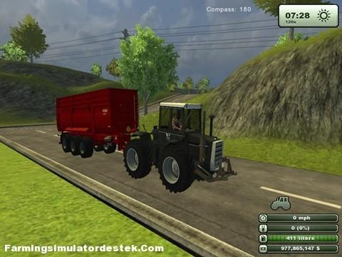 Photo of Massey Ferguson 1200 Siyah Traktör