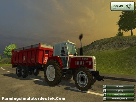 Photo of Steyr 8130