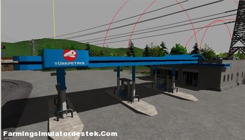 Türk Petrol Benzin İstasyonu
