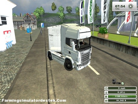 Photo of Scania R730 Beyaz Kamyon