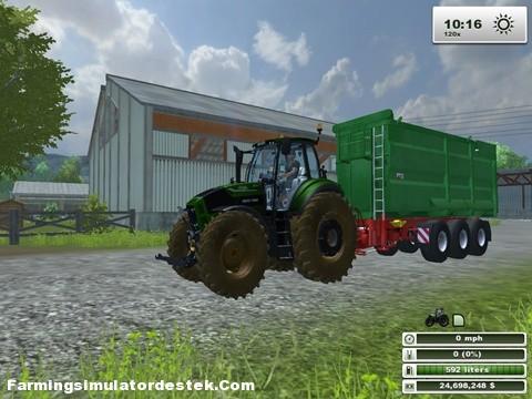 Photo of Deutz TTV 7250 Traktör