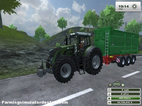 Photo of Fendt 936 MTS Traktör