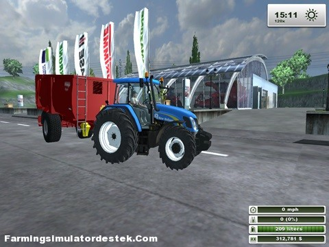 Photo of New Holland TL 100A Traktör