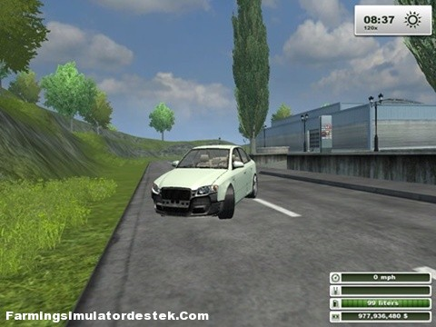 Audi A4 Accident Araba
