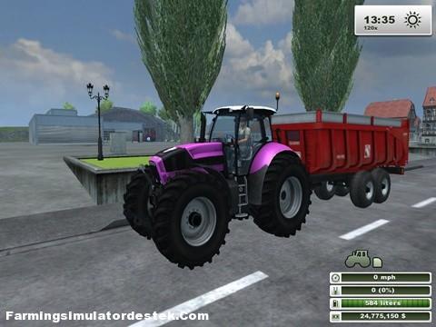 Photo of Deutz Agrotron X720 Özel Traktör