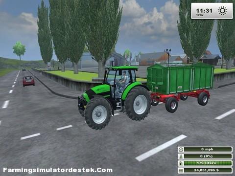 Photo of Deutz Agrotron K120 Traktör
