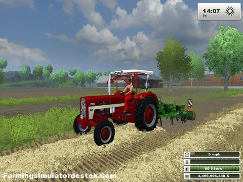 Photo of IHC-423 Kabinli Traktör