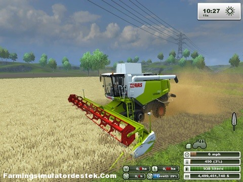 Photo of Claas Lexion 750 TT Biçer Döver