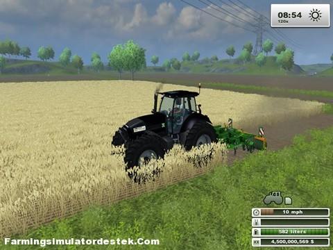 Photo of DEUTZ AGROTRON X720 Siyah Traktör
