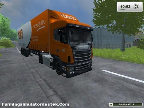 Photo of Scania Trafik Aracı