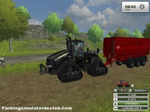Photo of Case IH Quadtrac 600 Traktör
