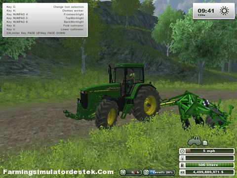 Photo of John Deere 8110 V2 Traktör