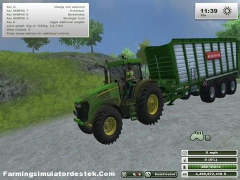 Photo of John Deere 7820 Kirli Traktör
