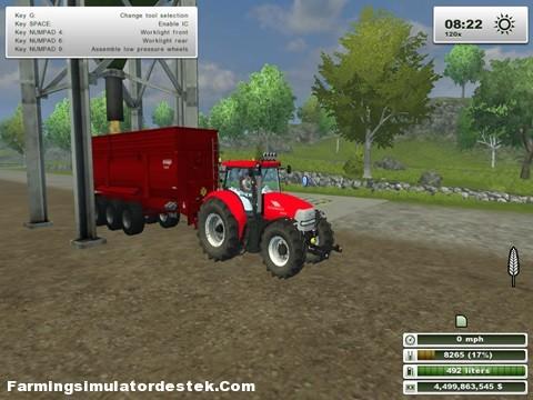 Photo of Mc Cormick MTX135 Traktör