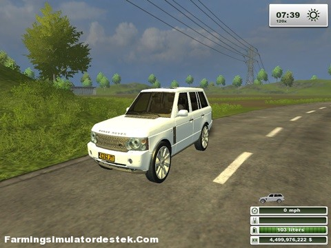 Land Rover Range Rover 2009 Model