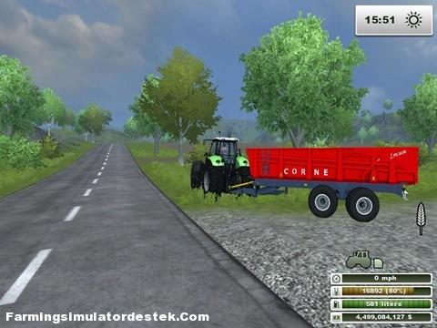 Photo of Corne CHBB 18 Tonluk Kırmızı Römork