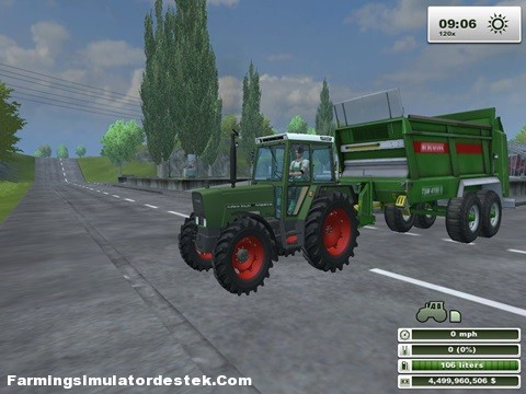 Photo of FENDT 309 LSA Traktör