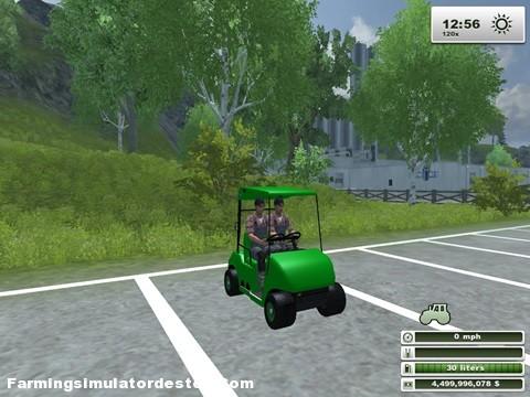 Photo of Golf Arabası Dikkat Çok Hızlı :)