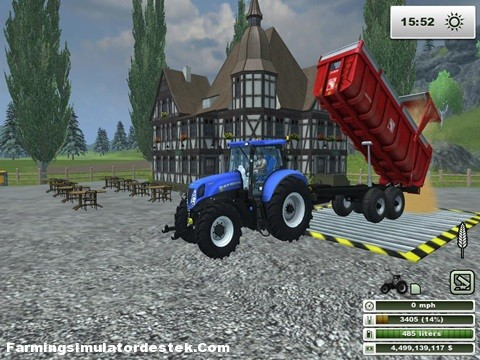 Photo of New Holland T7 210 Güçlü Traktör