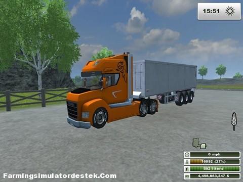 Photo of Scania Stax Kamyon