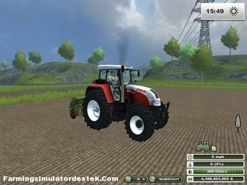 Photo of Steyr CVT 6195 Traktör