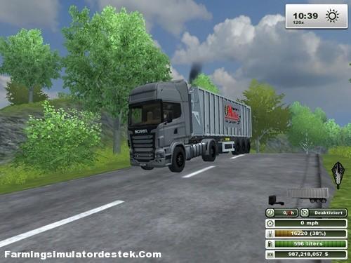 Photo of Scania R-730 Tır + Dorse
