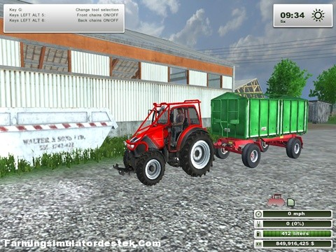 Photo of Lindner Geotrac 94 Kırmızı Traktör