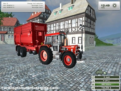 Photo of Schlueter 1500 VL Traktör