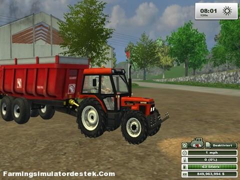 Photo of Zetor 7340 Turbo Traktör