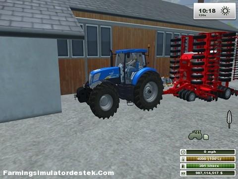 Photo of New Holland T-7050 Traktör