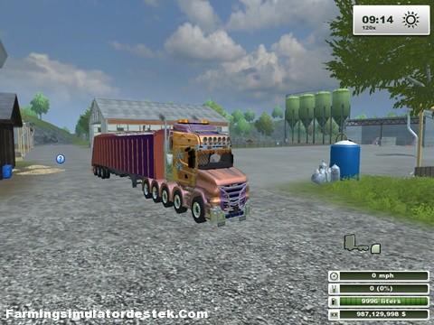 Photo of Scania Agrar Şirket Tır + Dorse Modu