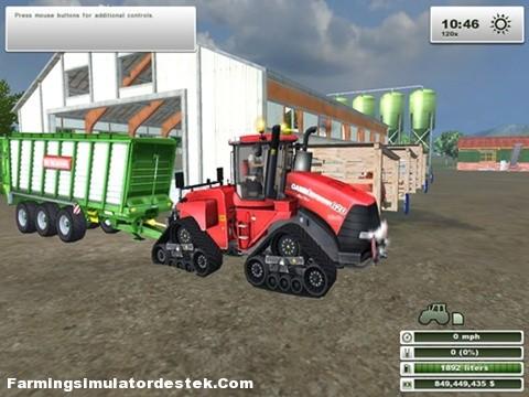Photo of Case Quadtrac 620 Traktör