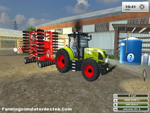 Photo of Claas Arion 640 Traktör