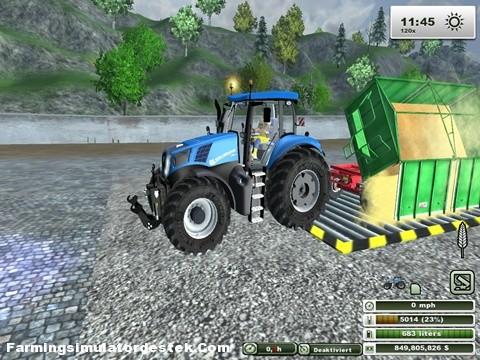 Photo of New Holland T-8.300 Traktör