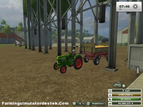 Deutz D 25 Traktör