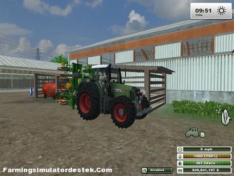 Photo of Fendt Vario 820 Traktör