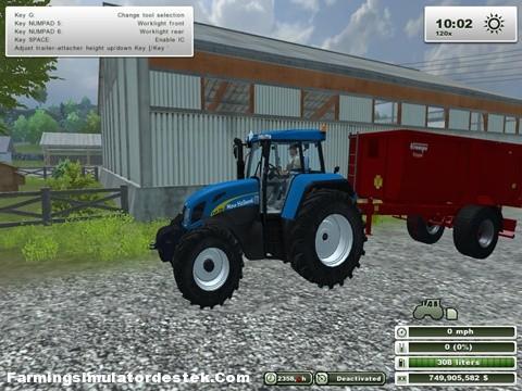 Photo of New Holland TVT 175 Traktör