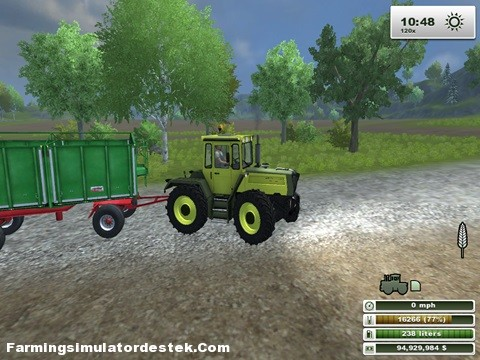 MB Trac 1400 Turbo Traktör