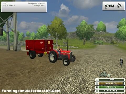 Massey Ferguson 240 Traktör