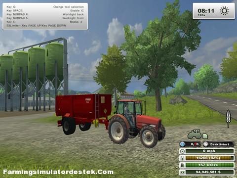 Photo of Zetor 10540 FL Traktör