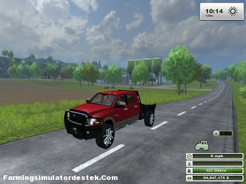 Dodge Ram LMS 3500 Kırmızı