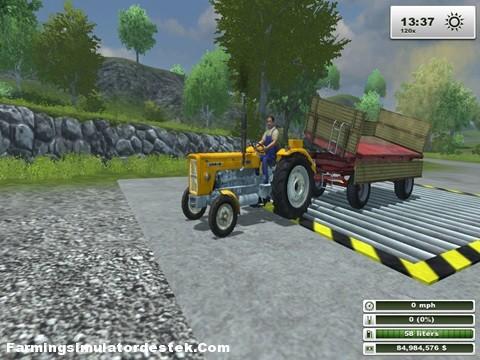 Photo of Ursus C 360 Kabinsiz Traktör