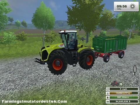 Photo of Claas Xerion 5000 Traktör
